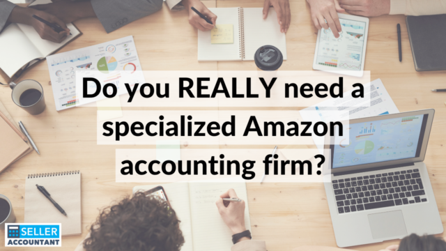 Specialized Amazon Accounting Firm